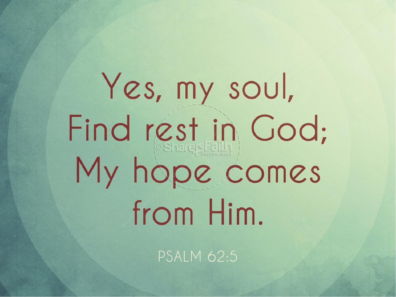 Find Rest Christian PowerPoint
