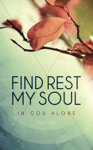 Find Rest Ministry Bulletin