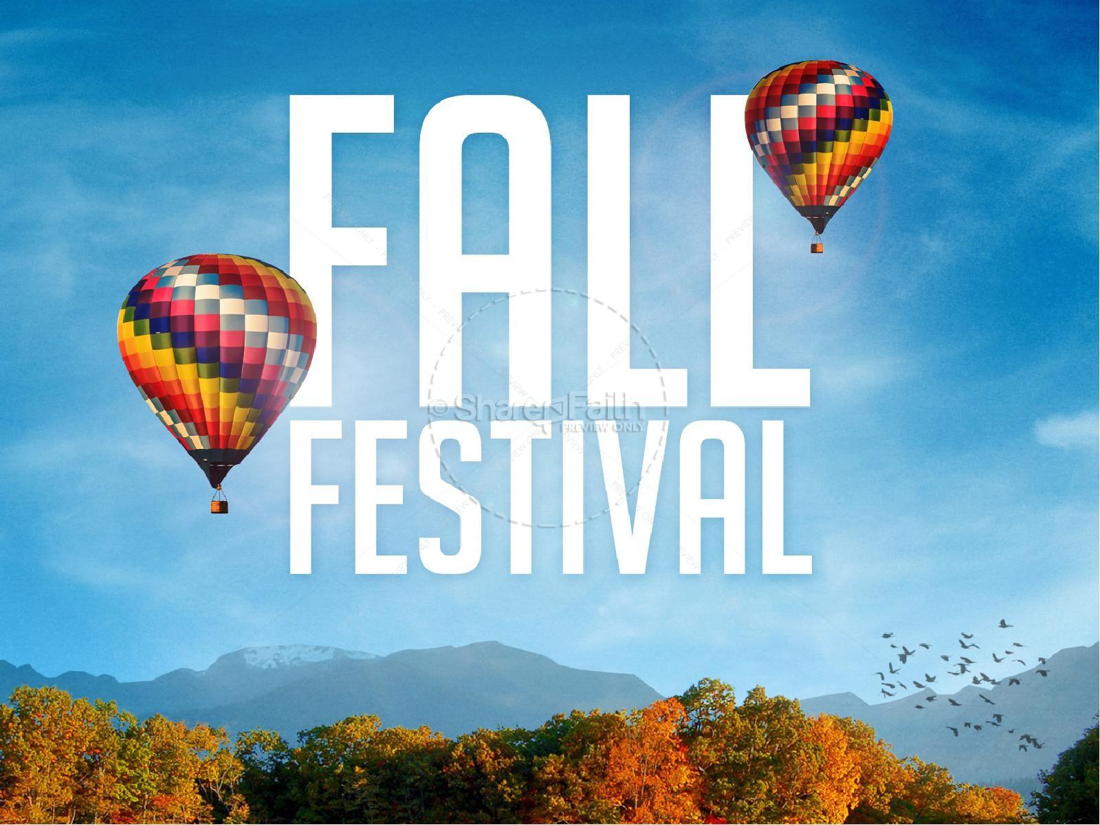 Fall Festival Christian PowerPoint