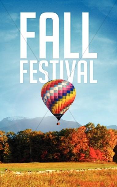 Fall Festical Religious Bulletin