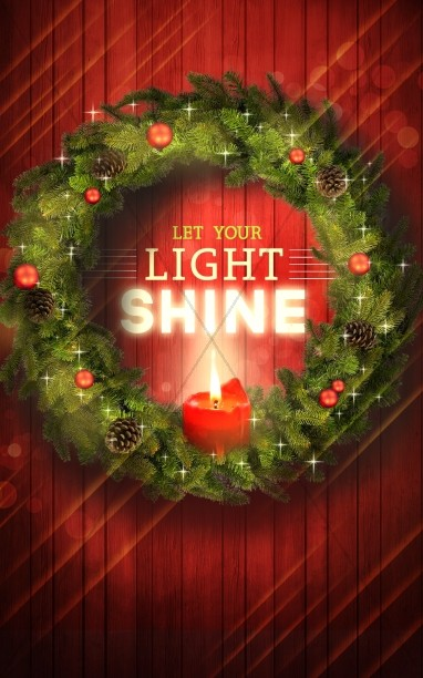 Let Your Light Shine Christmas Ministry Bulletin