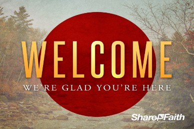 My Help Comes from You Religious Glad Welcome Video Loop