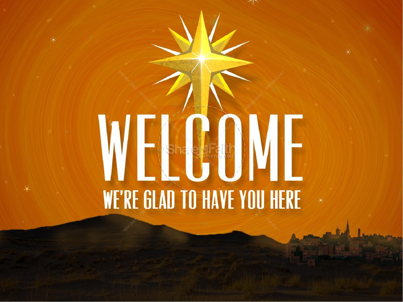 Hosanna In The Highest Religious Powerpoint Christmas