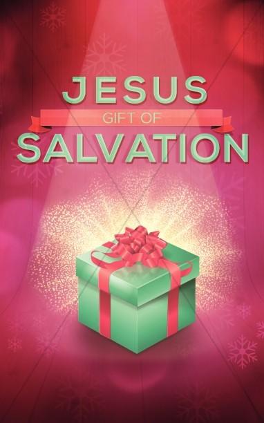 Jesus Gift of Salvation Religious Bulletin