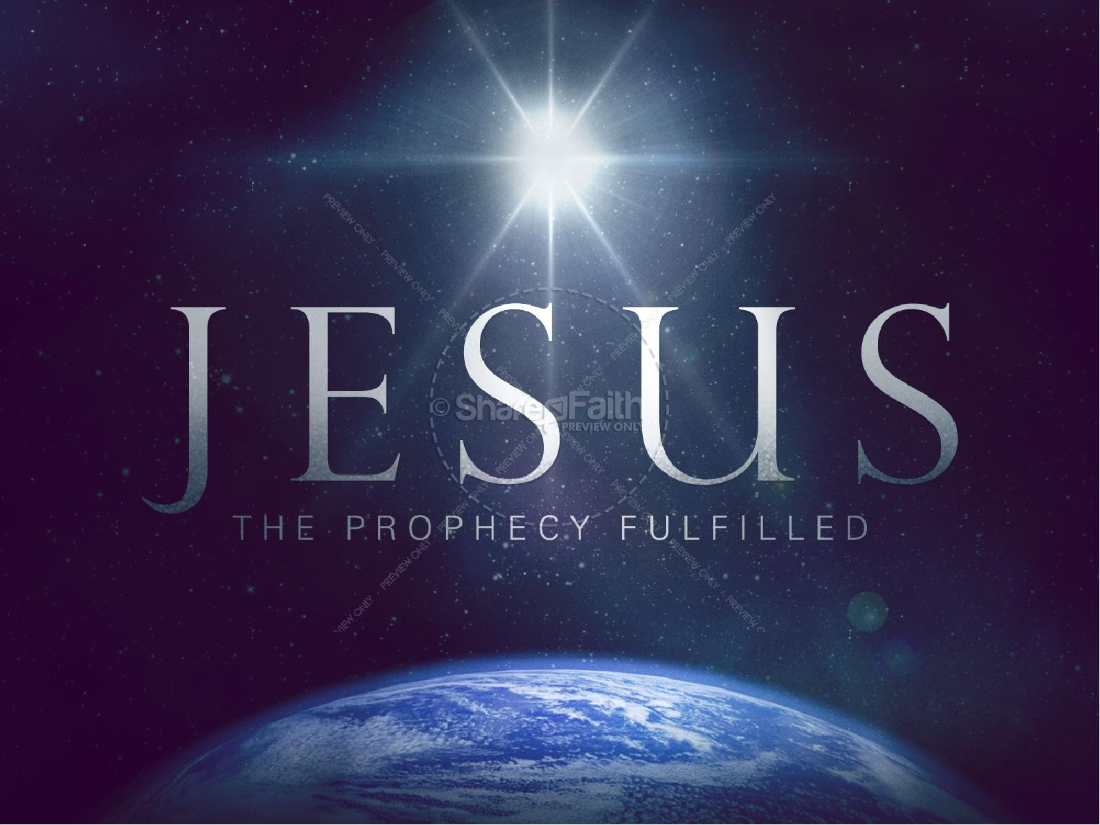 The Prophecy Fulfilled Christian PowerPoint | Christmas PowerPoints