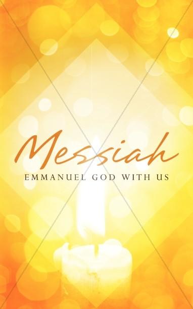 Messiah Emmanuel Christmas Ministry Bulletin