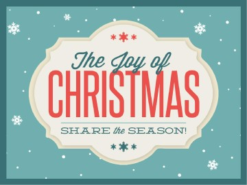The Joy Of Christmas Ministry Powerpoint Christmas