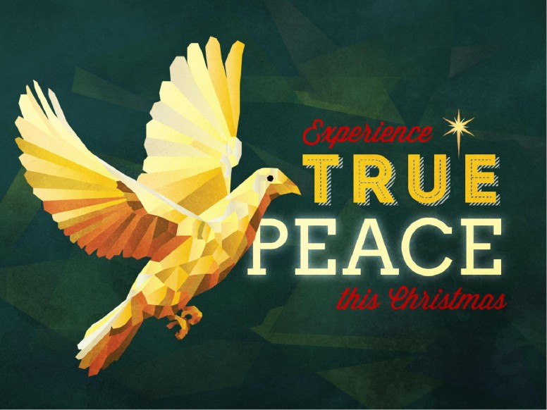Experience True Peace Christmas PowerPoint