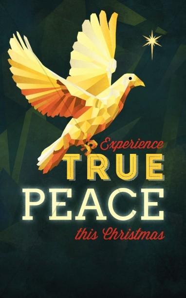 Experience True Peace Church Bulletin