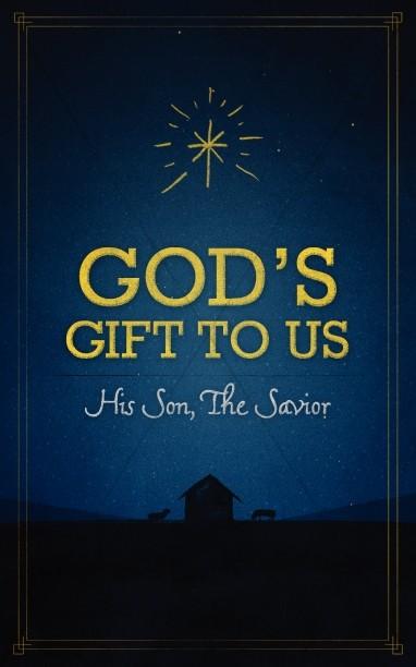 God's Gift to Us Church Bulletin