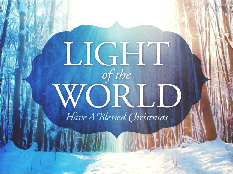 Light of the World Christmas PowerPoint