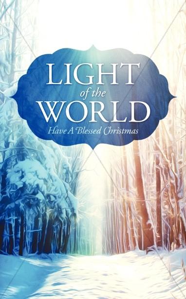 Light of the World Christmas Bulletin