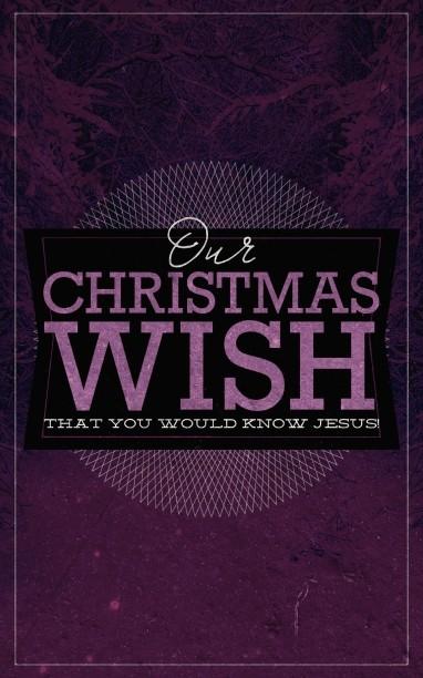 Our Christmas Wish Religious Bulletin