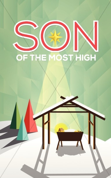 Son of the Most High Christmas Bulletin