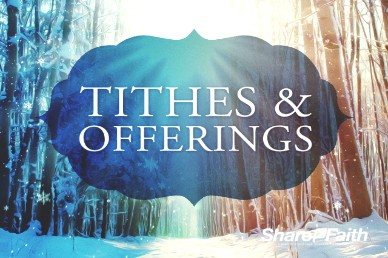 Light of the World Christmas Tithes and Offerings Video