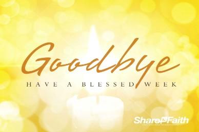 Messiah Emmanuel Christmas Goodbye Video