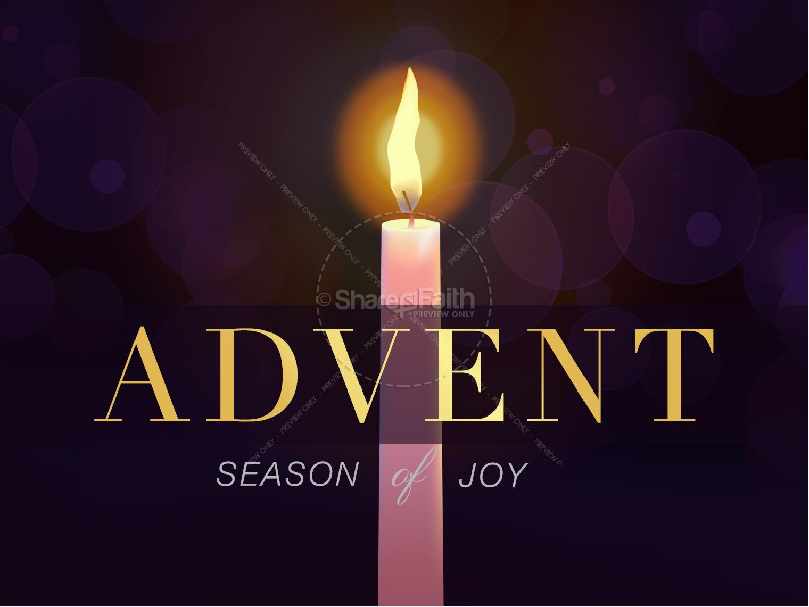 Advent Prepare for Christ Christmas PowerPoint | slide 5