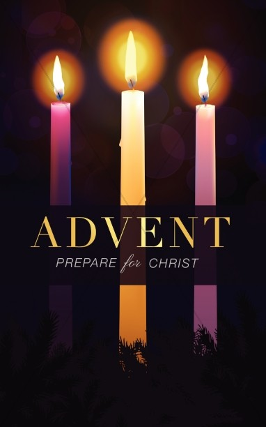 Advent Prepare for Christ Christmas Bulletin