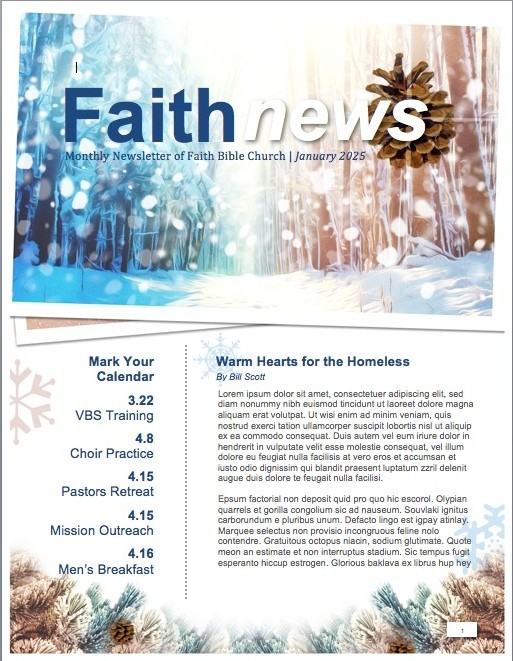 Light of the World Christmas Newsletter