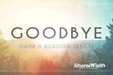 New Year Purpose Religious Goodbye Video