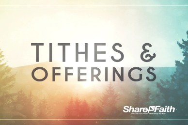 New Year Purpose Religious Tithes and Offerings Video
