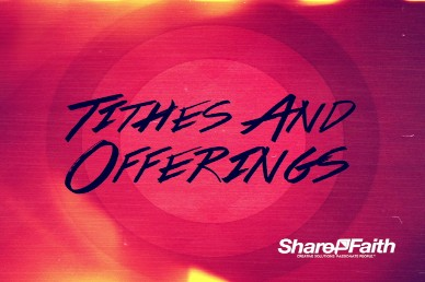 A Radical Year Religious Tithes and Offerings Video