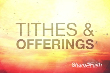 Experiencing God Religious Tithes and Offerings Video