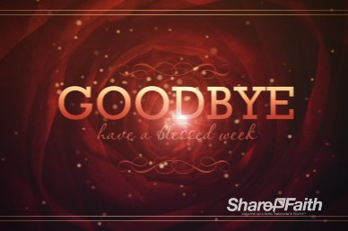 A Love that Never Fails Ministry Goodbye Video