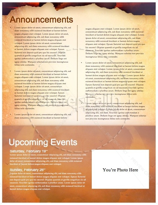 Experiencing God Ministry Newsletter
