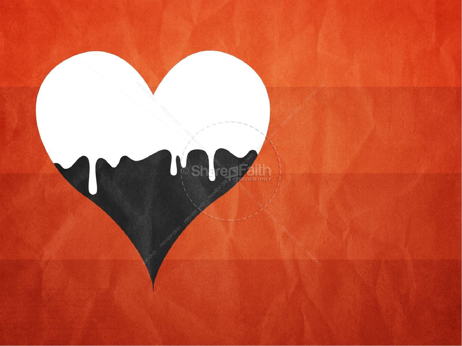 Love Covers Sin Christian PowerPoint | slide 6
