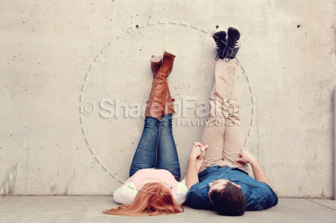 Valentines Day Couple Ministry Stock Photo Kicking Back