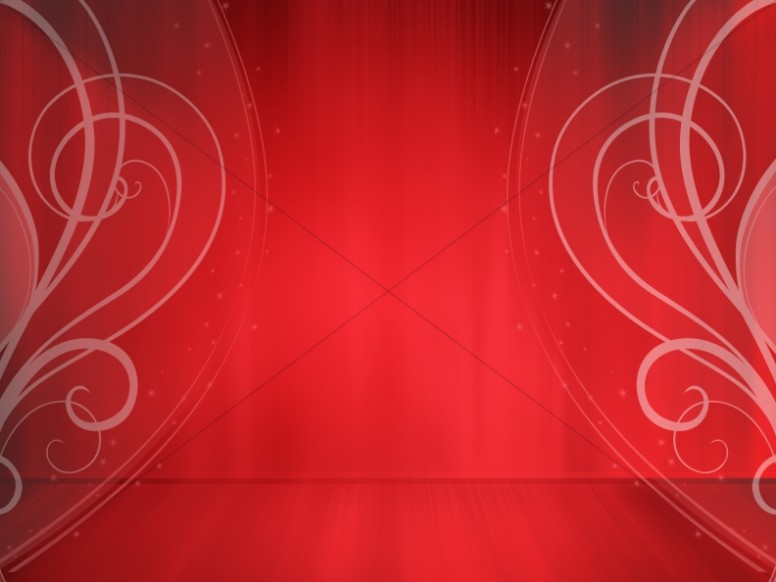 Valentines Red Love Curls Worship Background