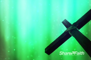Abstract Cross Easter Worship Video