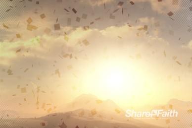 Abstract Mountain Worship Video Loop