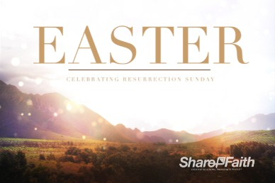 Mountains Greetings Easter Video