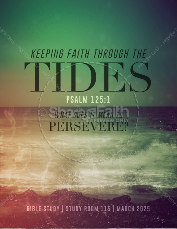 Faith Through Tides Christian Flyer