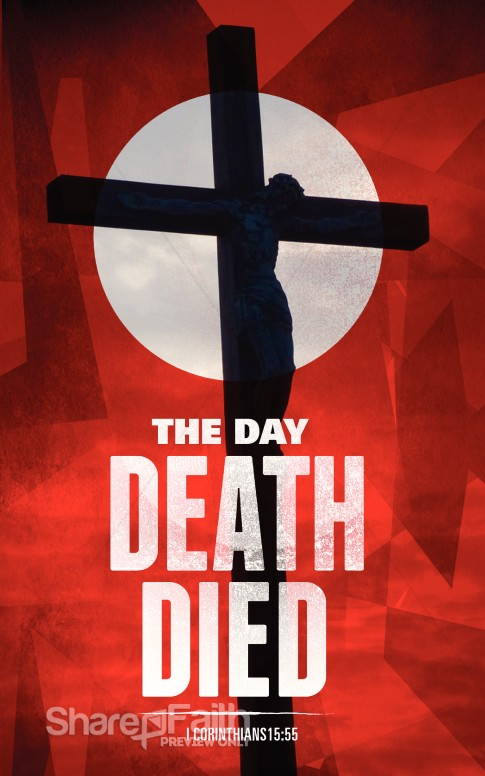 the day death died ministry bulletin