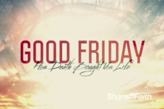 Broken For You Good Friday Welcome Video Loop Church