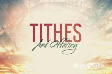Broken for You Ministry Tithes and Offerings Video Loop