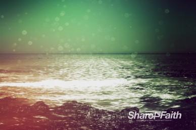 Faith Through Tides Christian Worship Video Loop