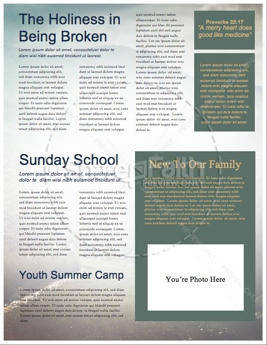 Mountain Heights Minsitry Newsletter