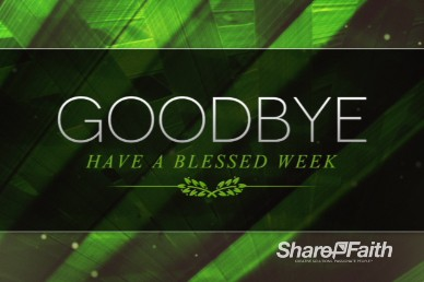 Palm Sunday Ministry Goodbye Video