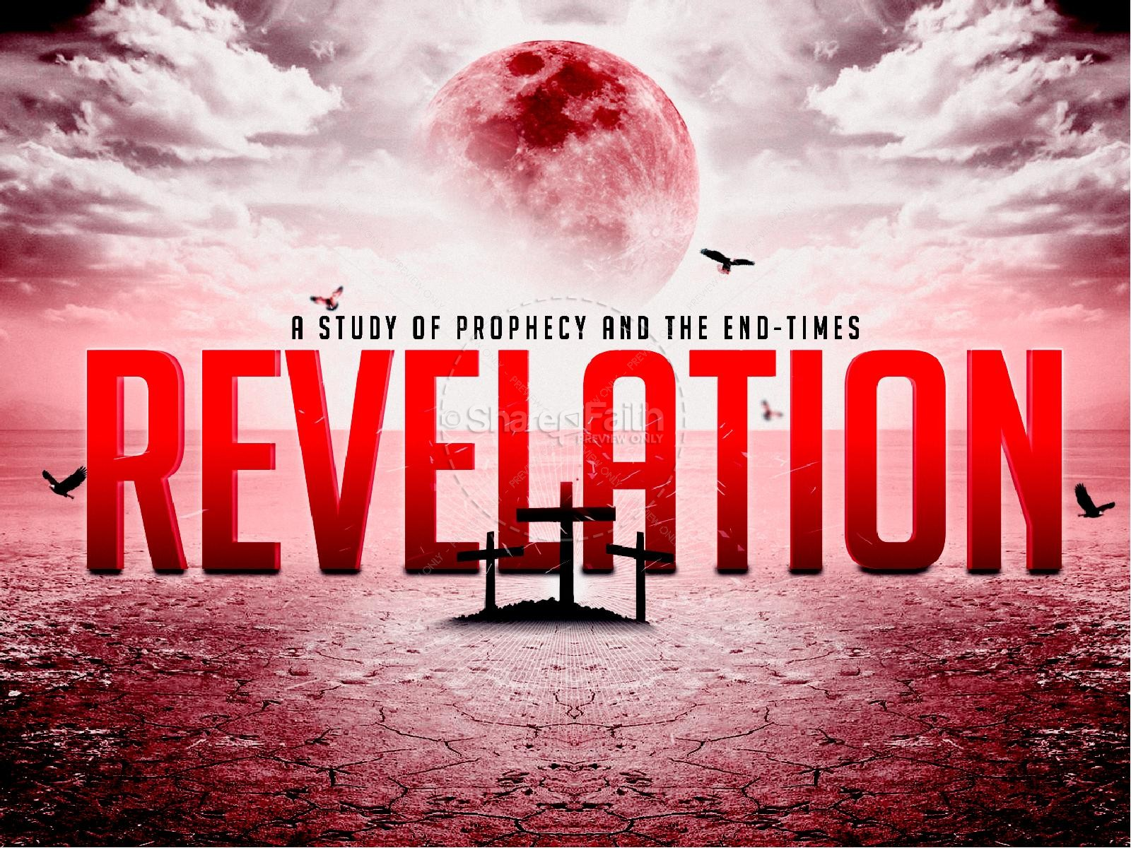 Book of revelation end times prophecy list