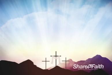 Resurrection Sunday Easter Worship Video Background