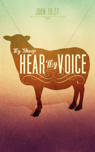 My Sheep Hear My Voice Ministry Bulletin