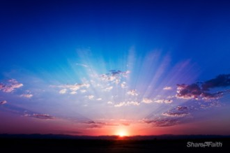 Sunrise Nature Video Background Worship Loop Worship Media