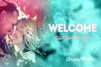 Splash of Love Mother's Day Welcome Video Background