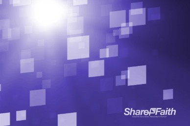 Abstract Squares Purple Worship Video Background