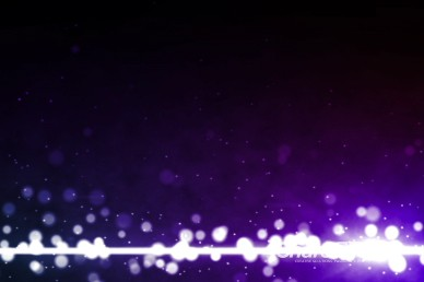 Colorful Particles Purple Worship Video Background