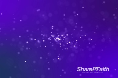 Particle Motion Video Motion Background Loop